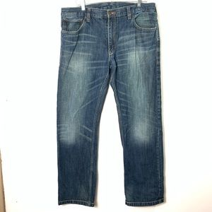 Levi Strauss 514 slim straight jeans men's 38/32